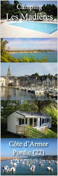 Camping les Madières en Bretagne